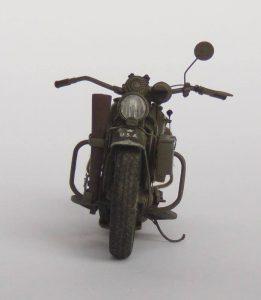 35080 U.S. WW II Motorcycle WLA + Don