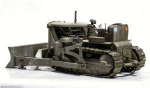 35195 U.S. ARMY BULLDOZER + Bill Inglee
