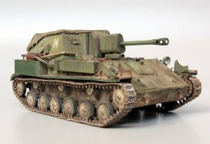 35143 SU-76M SOVIET SELF-PROPELLED GUN w/CREW + Eugeniy Tur