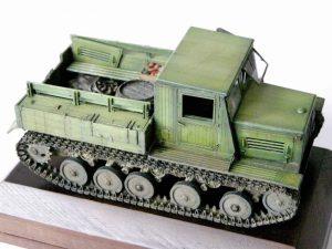35052 Ya-12 SOVIET ARTILLERY TRACTOR + Kamil K.