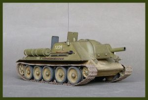 35175 SU-122 Initial Production. Interior Kit + Dmitry Surnin