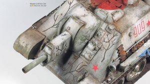 35181 SU-122 SOVIET SELF-PROPELLED GUN. Early Prod. + Yang Yu Pei