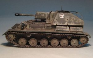35036 SU-76M SOVIET SELF-PROPELLED GUN w/CREW + Vladimir Yashin