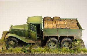 35127 GAZ-AAA CARGO TRUCK+ 35079 SOVIET 85-mm SHELLS w/AMMO BOXES+ 35064 SOVIET 57-mm & 76-mm SHELLS w/AMMO BOXE + Stanisław Jabłoński