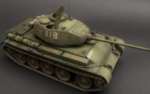 35193 T-44 SOVIET MEDIUM TANK + Boris
