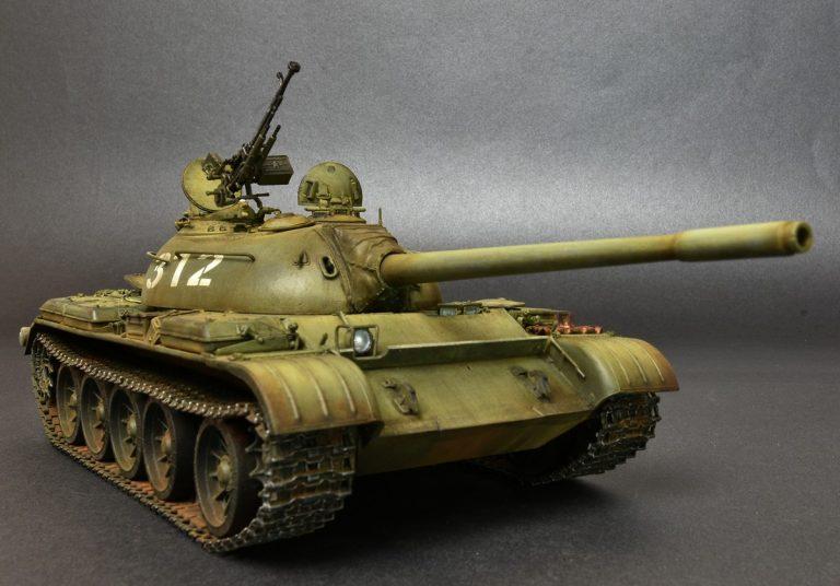 37017 T-54A SOVIET MEDIUM TANK