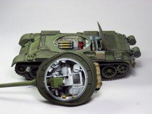 37004 T-54-2 SOVIET MEDIUM TANK. Mod 1949 + Oleg Gubarev