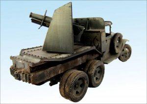 35136 GAZ-AAA Mod. 1940. CARGO TRUCK + Paweł Siemiński