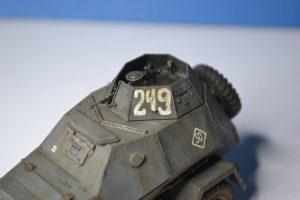 35097 BA-64B SOVIET ARMOURED CAR w/CREW +  Még Karácsony