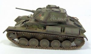 35117 SOVIET LIGHT TANK T-80. SPECIAL EDITION  + Gulumik