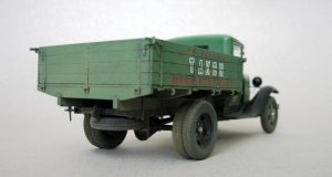35124 GAZ-AA CARGO TRUCK + 35548 Furniture Set + Sergei