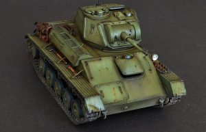 35117 T-80 SOVIET LIGHT TANK + Klim Mal'chugin