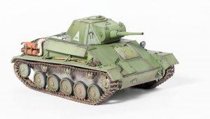 35194 T-70M SOVIET LIGHT TANK w/CREW. SPECIAL EDITION + Vladimir Chugunov