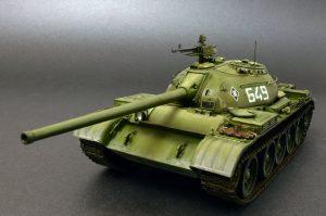 37012 T-54-2 SOVIET MEDIUM TANK. Mod 1949 + Olexander Lystopad