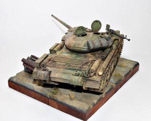 37003 T-54-1 SOVIET MEDIUM TANK. Interior kit