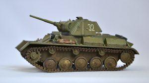 35194 T-70M SOVIET LIGHT TANK w/CREW. SPECIAL EDITION + Mikhail Belyaev