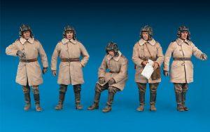 Photos 35244 ソビエト タンククルー冬季防寒服着用フィギュア5体入装備品付(特別版)