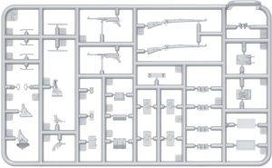 Content box 35249 Deutsche Panzerbesatzung ( Winter Uniform) Sonderedition.