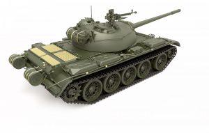 3D renders 37017 T-54A SOVIET MEDIUM TANK