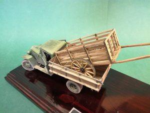 35134 GAZ-MM Mod.1943 CARGO TRUCK + Leepu Miniatures