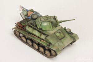 35113 T-70M SOVIET LIGHT TANK. SPECIAL EDITION + Repliphilia