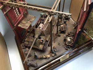 35011 GERMAN TANK REPAIR CREW + 35546 INDUSTRIAL BUILDING SECTIONS + Nobuyasu Akiyama