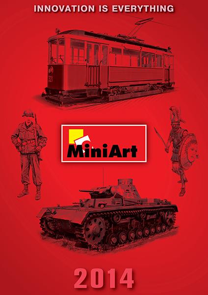 New MiniArt's Catalogue 2014