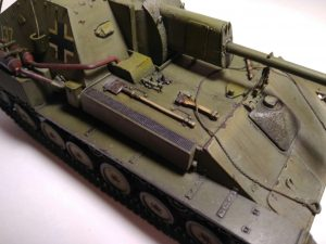 35053 JAGDPANZER SU-76(r) w/CREW + Aleksandr Kuznetsov