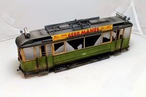 38003 GERMAN TRAMCAR 641 (StraBenbahn Triebwagen 641) + Dan Capuano