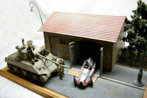 35507 FRENCH FARMYARD + 35009 SOVIET TANK CREW AT REST + Dmitry Krasnikov