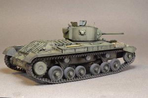 35092 VALENTINE Mk.IV RED ARMY w/CREW + Perehodnov Anton