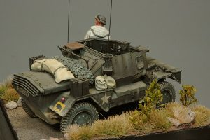 35077 DINGO Mk.III BRITISH SCOUT CAR w/CREW + Yang Tae Jun