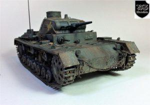 35162 Pz.Kpfw.III Ausf.B + Ramón Segarra