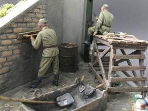 35001 SOVIET INFANTRY AT REST (1943-45) + Sergey Bondar