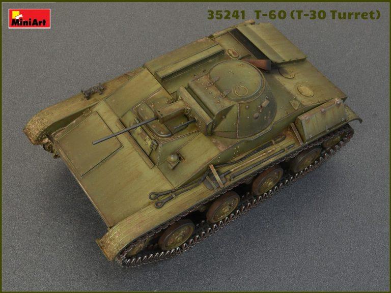 35241 T-60(T-30砲塔搭載)フルインテリア(内部再現)