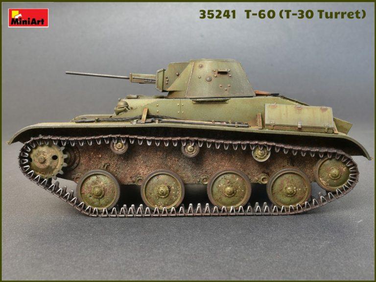 35241 T-60 (с Башней от T-30) НАБОР С ИНТЕРЬЕРОМ