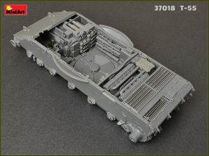 Build up 37018 T-55 Mod. 1963  INTERIOR KIT