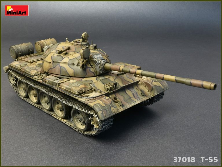 37018 T-55MOD.1963フルインテリア(内部再現)