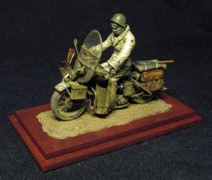 35172 U.S. MOTORCYCLE WLA w/RIDER + Kimmo Happonen