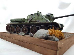 35178 SU-85 SOVIET SPG Mod.1943 w/CREW (Early Production) + Çağlar Büyükfırat