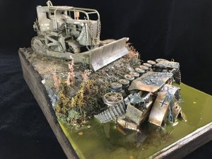 35188 U.S. ARMOURED BULLDOZER + Dustin Dias