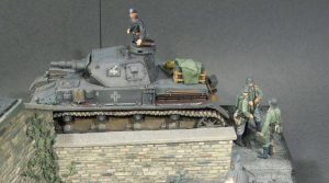 35011 GERMAN TANK REPAIR CREW + Frank Glackin