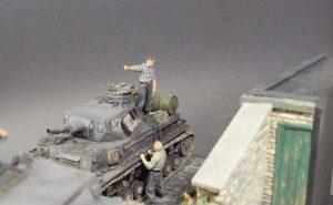 35011 GERMAN TANK REPAIR CREW +Frank Glackin
