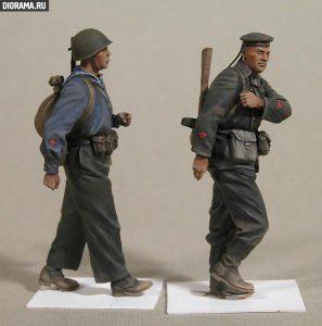 35094 SOVIET NAVAL TROOPS+ Vladimir Demchenko