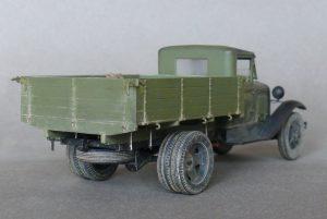 35124 GAZ-AA CARGO TRUCK 1.5t TRUCK + Dmitry Surnin