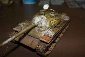 37004 T-54-2 SOVIET MEDIUM TANK. Mod 1949 INTERIOR KIT + sticks84