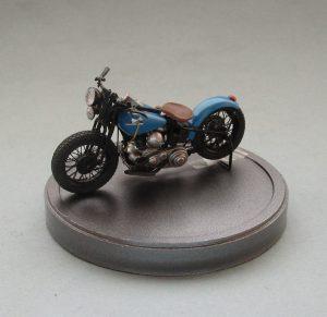35080 U.S. WW II Motorcycle WLA + Eric Doucet