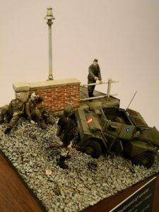 35074 DINGO Mk.II SCOUT CAR w/CREW Pz.Kmpf. Mk.I 202(e) + Radek Pituch