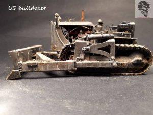 35195 U.S. ARMY BULLDOZER + Diablus Maquettes