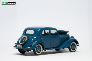 38008 GERMAN PASSENGER CAR TYP 170V SALOON 4 DOORS + Edwing E. Merlo Paredes